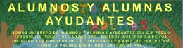 Alumnos y alumnas ayudantes
